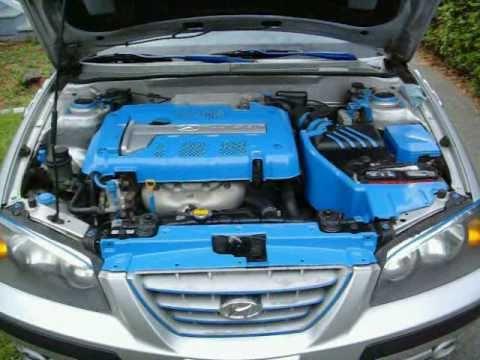 Bay Engine Paint Plastic Trim Elantra GT 2004
