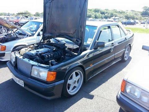 Mercedes 190e Amg Engine Swap 3 2 24v M104 Acceleration Through