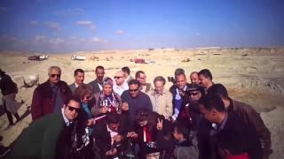 قناة السويس الجديدة :المصريين الاحرار كلنا كده عايزين صورة فى قناة السويس الجديدة