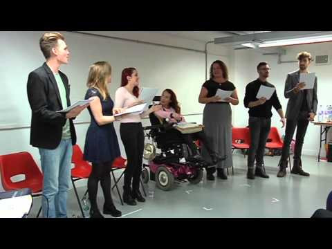 A reading of 'Get On With It' by Amy Golden & Craig Christie