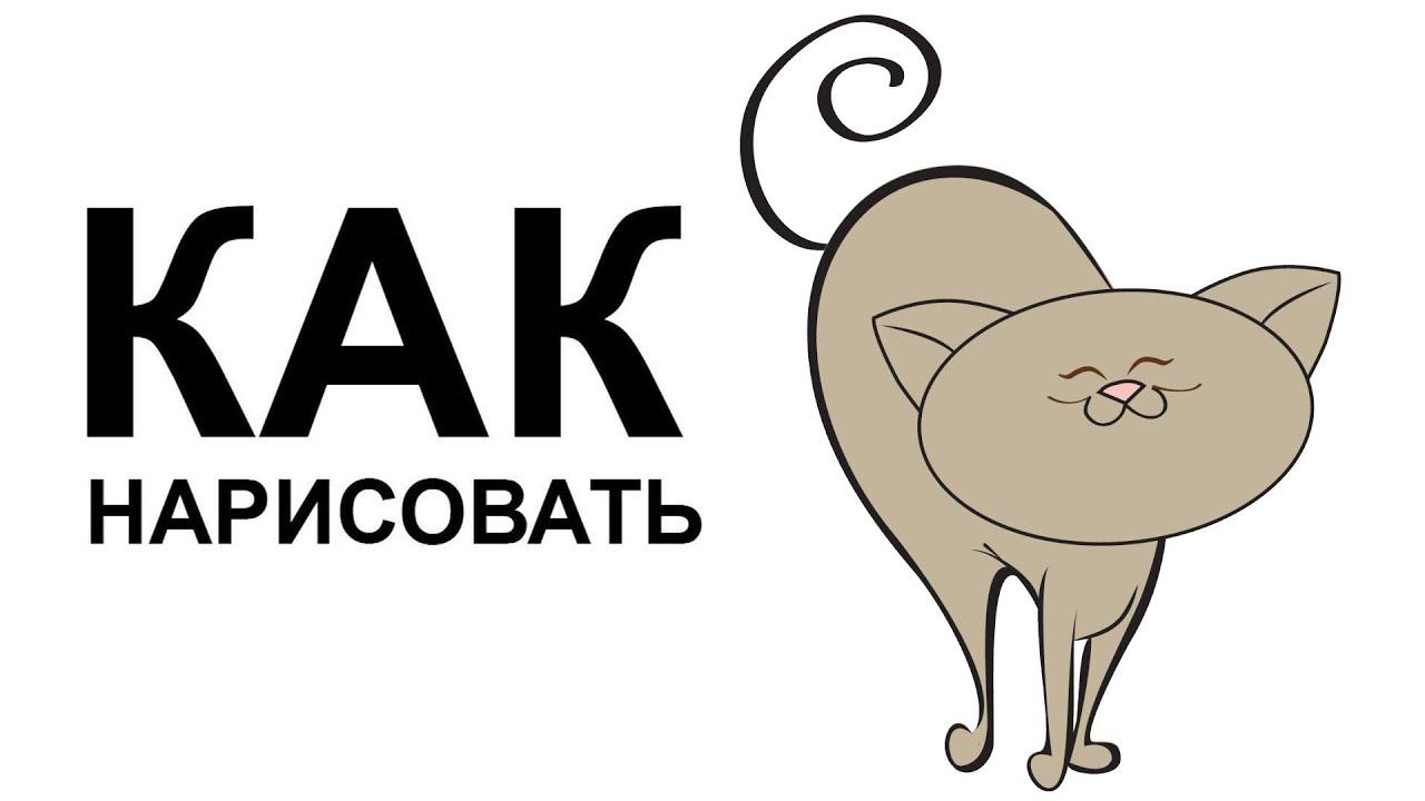Рисунки карандашом котов для начинающих