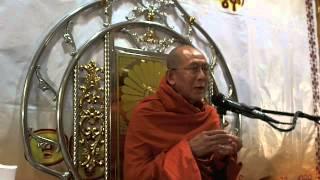 Dhamma Talk by Dhamma Bayri Ashin Wiriya( Taung Soon) Q &A
