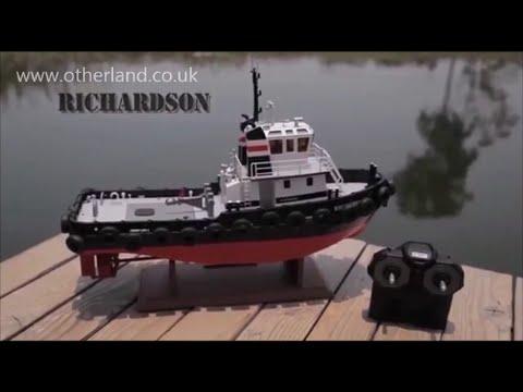 Hobby Engine Premium Label Richardson and Southampton Tug Boats