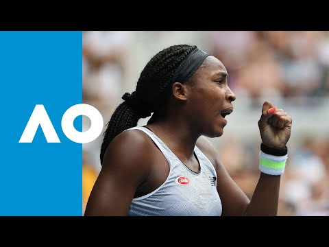 Coco Gauff comes back from a set down to win (2R) | Australian Open 2020