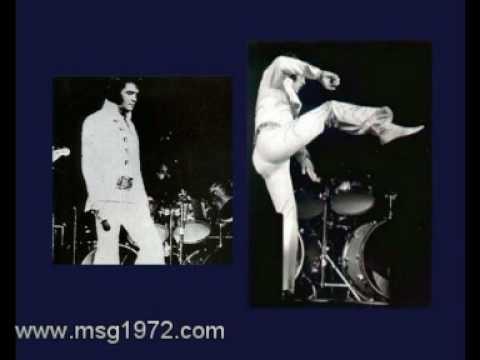 Elvis Presley MSG 1972 Slide ShowNEW Pictures Concert Shots total stunning done PART 1