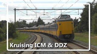 Kruising ICM en DDZ op station Harderwijk!