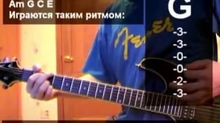 Уроки гитары Агата Кристи Как На Войне