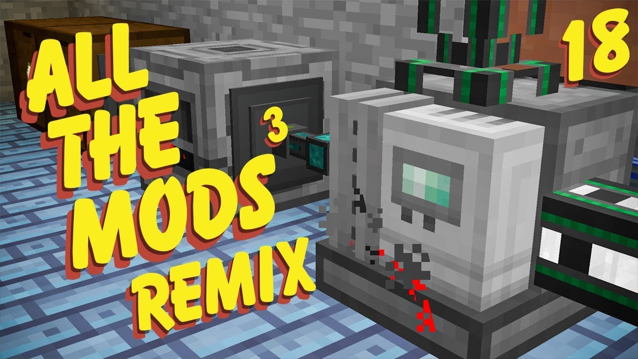 All The Mods 3 Remix Ep  18 Ethylene Power + Pink Slime Overload