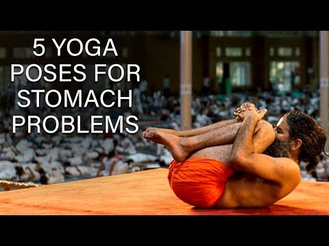 5 Yoga Poses for Stomach Problems | Swami Ramdev