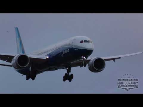Boeing 787-10 Dreamliner - Missed Approach at Paine Field