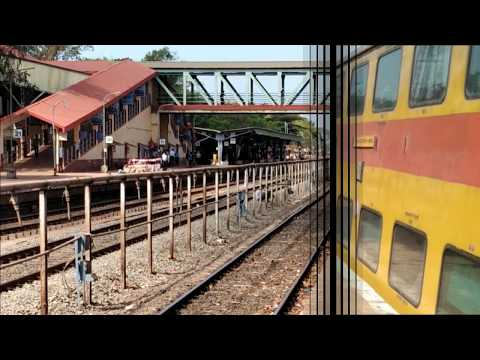 Humble And Politeful Konkan Railway Announcement | Double Decker Express Announcement