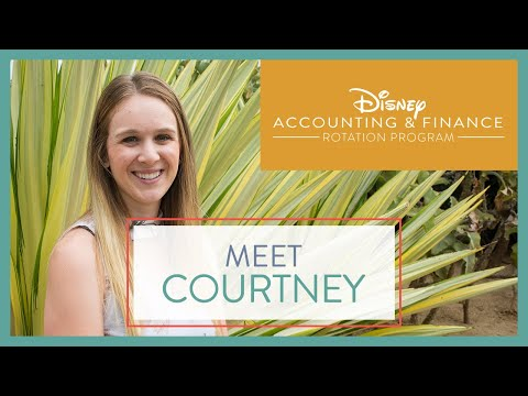 Disney Accounting & Finance Rotation Program: Role Spotlight | Courtney