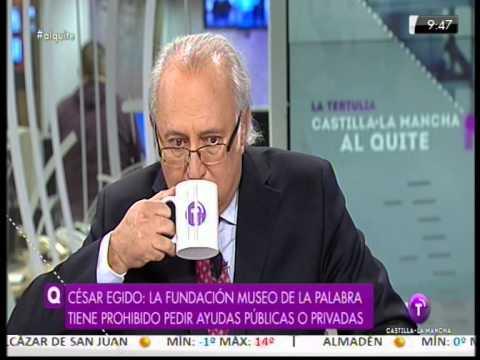 Museodelapalabra.com Entrevista a César Egido Televisión Castilla la Mancha