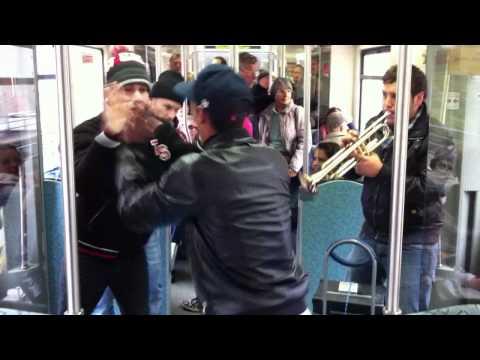 Dance everywhere - Berlin metro