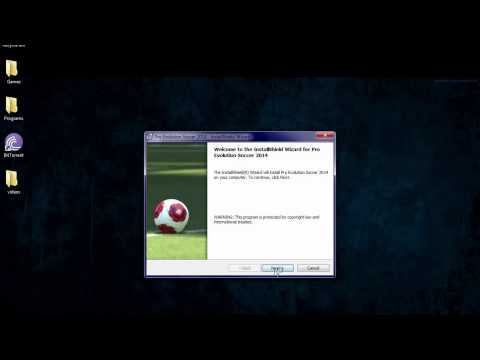 How to download and install Pro evolution soccer 2014