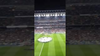 Champions League hymn LIVE (Real Madrid-Napoli)