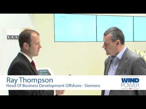 Ray Thompson interviewed at Offshore Wind 2013