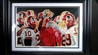 Washington Redskins Painting By AmariGene