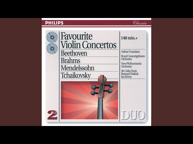 Beethoven: Violin Romance No.2 in F, Op.50