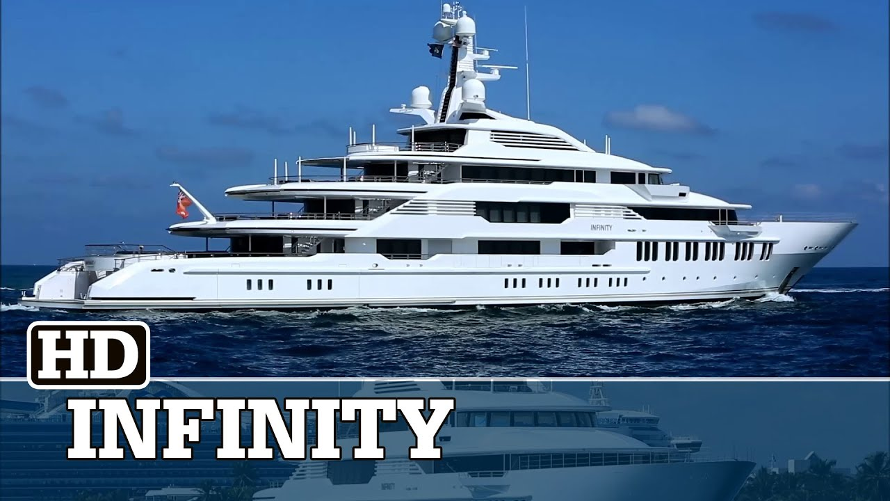 Eric Smidt | his Crazy $150m INFINITY Yacht | SuperYachtFan