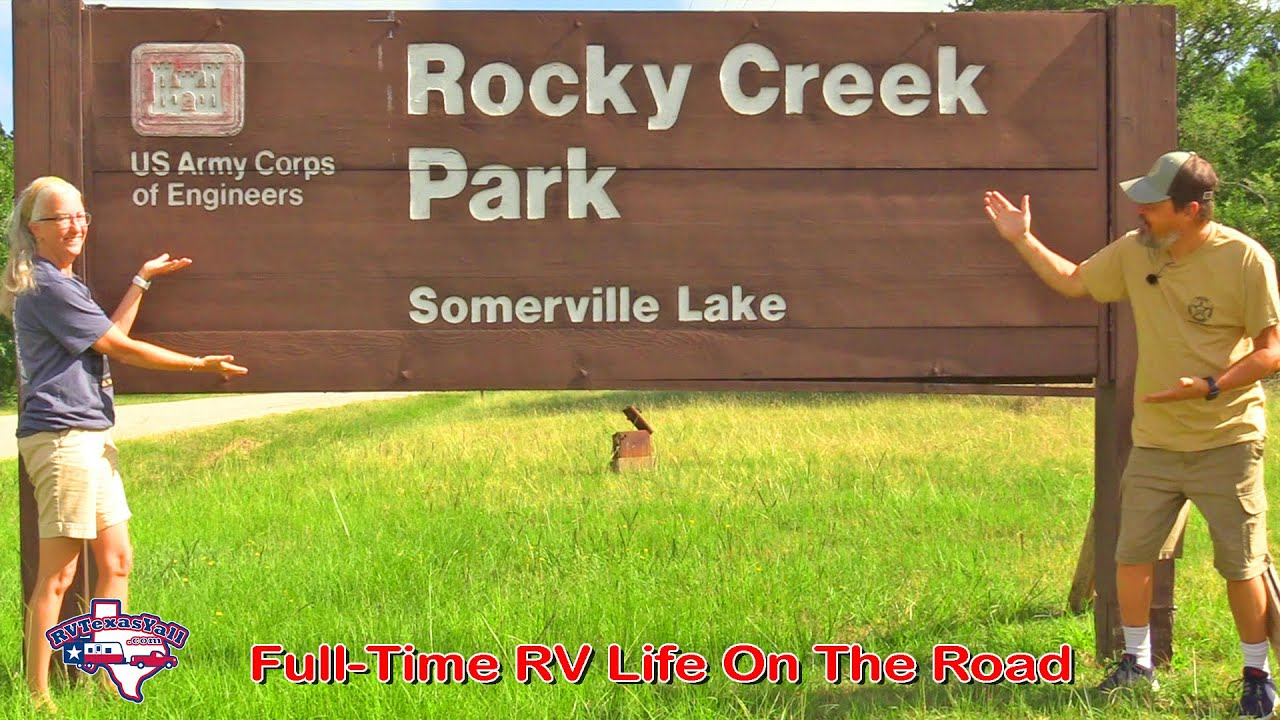 Rocky Creek Park, Lake Somerville | COE Camping in Texas