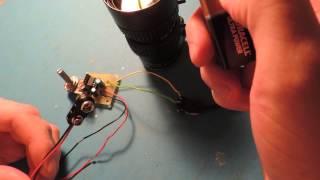 Infrared DC Iris Control Hack V1.0 (Night Vision Lens Control)