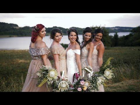 Shiningford Farm wedding video - Michelle and Mark