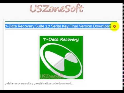 7 data recovery suite registration code