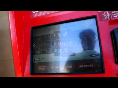Redbox Video Rental Kiosk Return Netflix Sent back Late..; DVD and Film Rentals