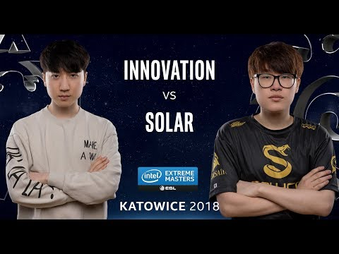StarCraft II - INnoVation [T] vs. Solar [Z] - Ro24 - Group B - IEM Katowice 2018
