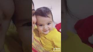Cute baby funny video     baby laughing