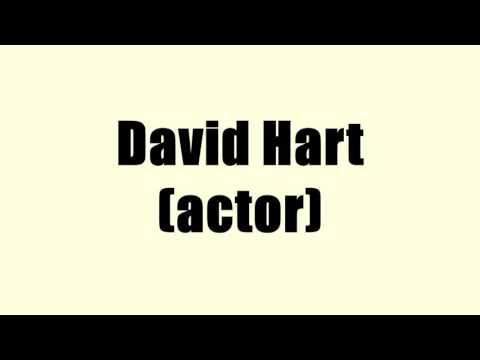 David Hart (actor)