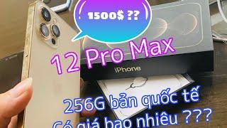 iPhone 12 Pro Max - Đập Hộp 12 Pro Max . Mua ở Nhật Bản 🇯🇵 Giá Bao Nhiêu ???