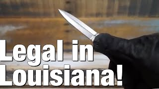 Baixar Switchblades / auto-knives now legal in Louisiana, but...