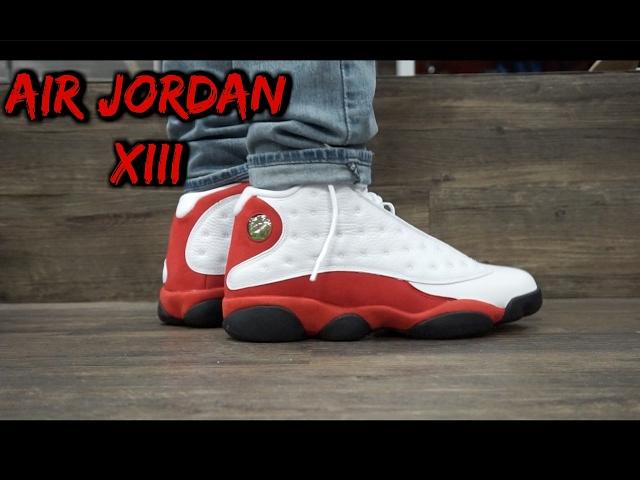 Air Jordan OG Cherry 13s W/ on Foot