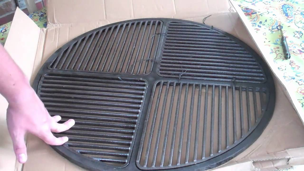 Cast Iron Grate Upgrade For The Weber Kettle