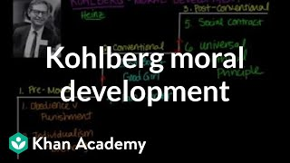 Kohlberg moral development | Individuals and Society | MCAT | Khan Academy