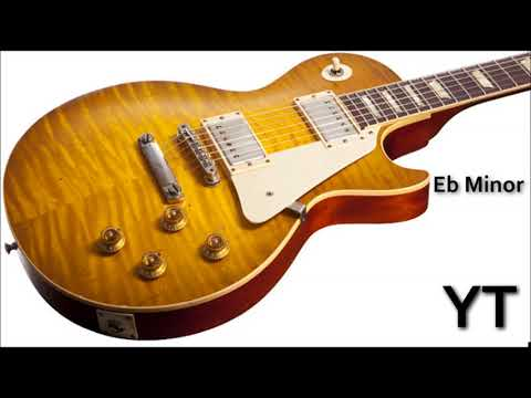 Mellow Groove Guitar Backing Track Eb Minor
