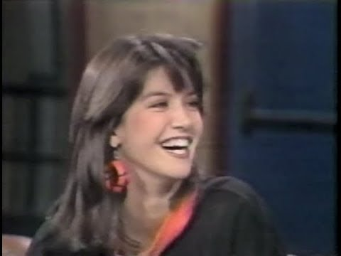 Phoebe Cates on Late Night, August 27, 1984