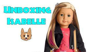 Isabelle Unboxing - American Girl GOTY 2014