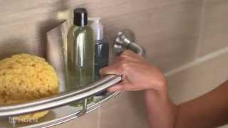 Moen Grab Bar With Shelf | Moen Features Spotlight
