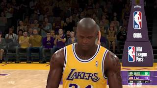 ALL-TIME Los Angeles Lakers vs ALL-TIME Boston Celtics | NBA 2k20 Gameplay