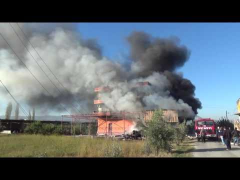 Tömükte Ev Yangını