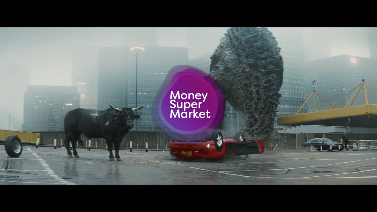 MoneySuperMarket | Money Calm Bull | Get Car Insurance Calm