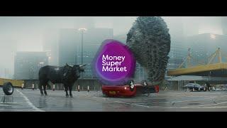 MoneySuperMarket   Money Calm Bull   Get Car Insurance Calm