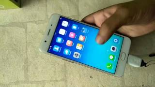 How To Conect OTG on OPPO F3 All oppo model