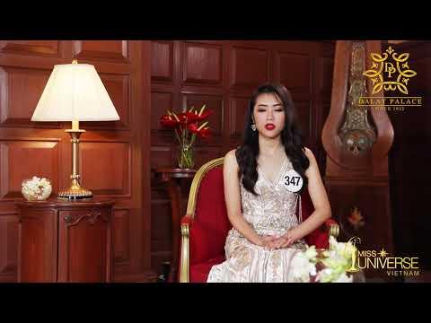 INTERVIEW | Đỗ Lan Vy, SBD 347 | Top 45 Miss Universe Vietnam