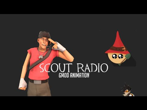 Scout Radio Animation (original by Muselk)
