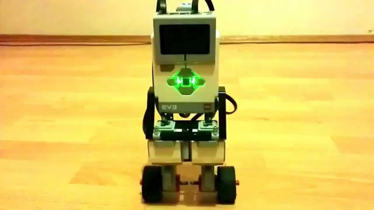 LEGO Mindstorms EV3 GyroBoy self balancing robot (31313) - YouTube