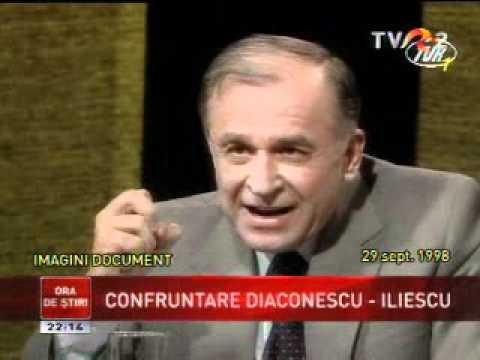 Imagini-document - Ion Diaconescu faţă în faţă cu Ion Iliescu (fragment)